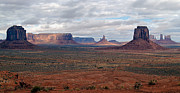 Jeff Brunton Metal Prints - Monument Valley Morning Metal Print by Jeff Brunton