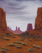Xenia Sease - Monument Valley- Overcast