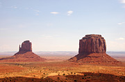 Monument Valley Print by Paul Van Baardwijk