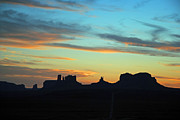 Jeff Brunton Metal Prints - Monument Valley Sunset 4  Metal Print by Jeff Brunton