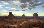 Monument Valley Sunset  Print by Saija  Lehtonen