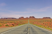 American Indian Prints - Monument Valley - The Classic View Print by Christine Till