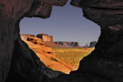 Navaho Posters - Monument Valley - the untamed West Poster by Christine Till