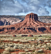 Southwest Landscape Metal Prints - Monument Valley UT 7 Metal Print by Ron White