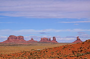 Navaho Framed Prints - Monument Valley Framed Print by Viktor Savchenko