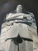 Martin Luther King Jr. Paintings - Monumental King by Joseph Love