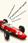 Rally Prints - Monza Italy Formula 3 1967 Print by Nomad Art And  Design