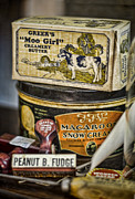 Dairy Foods Framed Prints - Moo Girl Framed Print by Heather Applegate