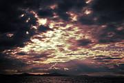 Fototrav Print - Moody cloudscape over sea