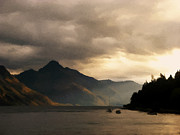 Dawn Photos - Moody lake by Pixel  Chimp