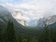 Yosemite Art - Moody Yosemite by Stu Shepherd