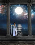 Moon Goddess Print by Jill Battaglia