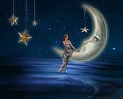 Moon Goddess Print by Juli Scalzi