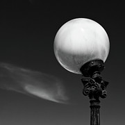 Monochrome Prints - Moon Light Print by David Bowman