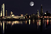 Dancin Artworks - Moon Over Chicago
