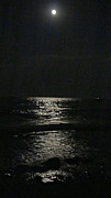 Kathy DesJardins - Moon rise over the Lake...