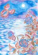 Moonlight Flight Print by Jelena Sulamanidze