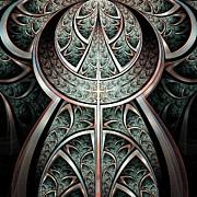 Moonlight Gates Print by Anastasiya Malakhova