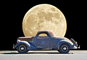 Family Car Prints - Moonlight Memories Print by Dave Koontz