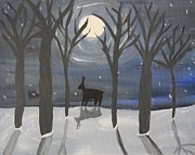 Lynn-Marie Gildersleeve - Moonlight on Snow