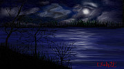 Christy Burkett - Moonlight on the Lake
