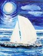 Diane Pape - Moonlight Sail