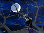 Edward Fuller - Moonlighting Raven