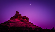 Bell Rock Posters - Moonrise Bell  Poster by Buffalo fawn Photography