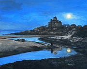 Eileen Patten Oliver - Moonrise Good Harbor