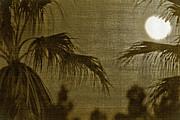 Moons Glow Print by Gilbert Artiaga