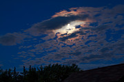 Man-in-the-moon Photo Prints - Moonscape Print by Robert Bales