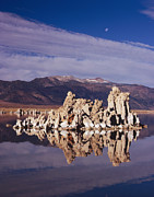Tom Daniel - Moonset Over Tufa