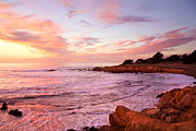 Moonstone Beach Cambria Print by Michael Rock