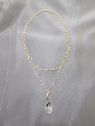 Featured Jewelry - Moonstone chain and pendant necklace by Jan Durand