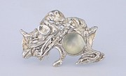 Underwater Jewelry - Moonstone Reef by Laura Wilson