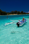 Moorea Photos - Moorea Lagoon No 12 by David Smith