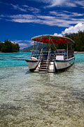 Moorea Photos - Moorea Lagoon No 13 by David Smith