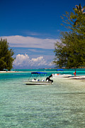 Moorea Photos - Moorea Lagoon No 14 by David Smith
