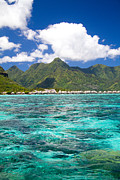 Moorea Photos - Moorea Lagoon No 2 by David Smith