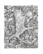 Moose Antler Shed Print by Kenneth or Susan Posselt