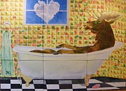 LeAnne Sowa - Moose Bath II