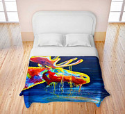 TeshiaArt - Moose Drool - Duvet Cover