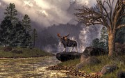 Daniel Eskridge - Moose in the Adirondacks