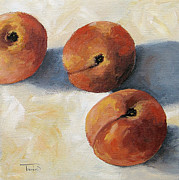 Peaches Painting Metal Prints - More Georgia Peaches Metal Print by Torrie Smiley