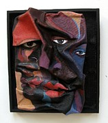African American Sculptures - More Than Skin Deep 8 by Joyce Owens