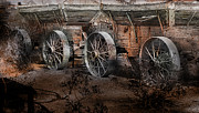 Gunter Nezhoda Metal Prints - More Wagons East Metal Print by Gunter Nezhoda