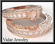 Roi Avidar - Morganite And Diamond...