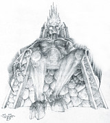Morgoth Bauglir Print by Curtiss Shaffer