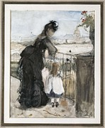 Morisot Photos - Morisot, Berthe 1841-1895. In by Everett