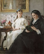 Morisot Photos - Morisot, Berthe 1841-1895. The Mother by Everett